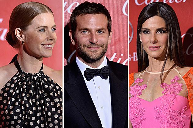 Amy Adams, Bradley Cooper, Sandra Bullock