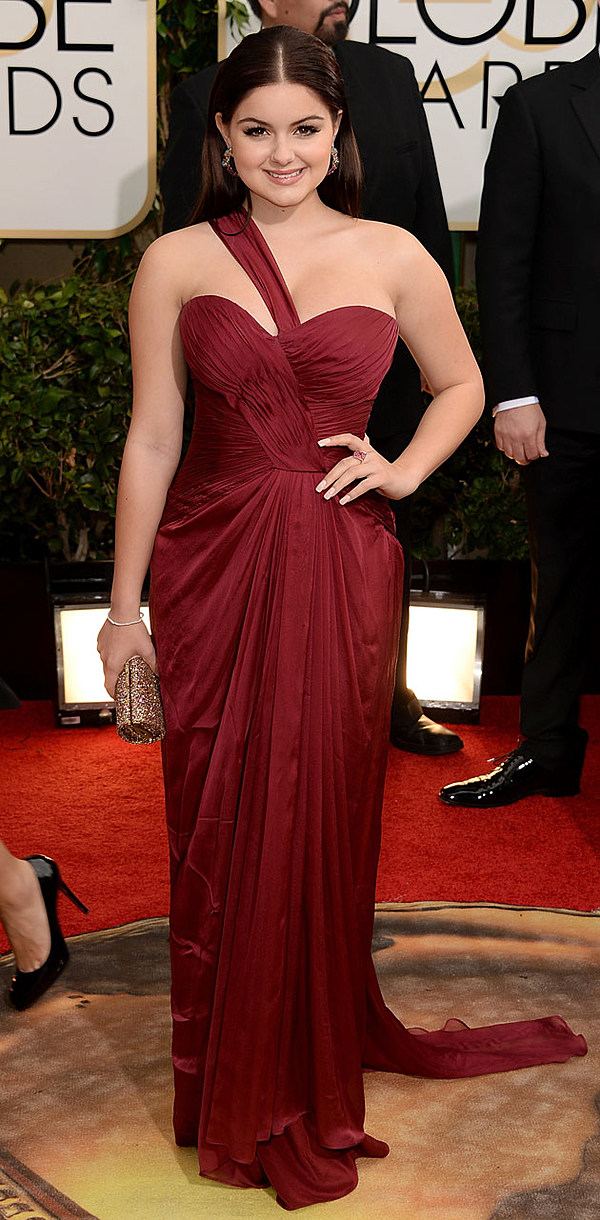 See Ariel Winter's Dress at the 2014 Golden Globes