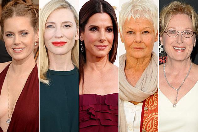 Amy Adams Cate Blanchett Sandra Bullock Judi Dench Meryl Streep