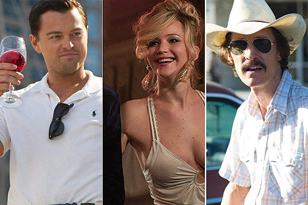 Leonardo DiCaprio Jennifer Lawrence Matthew McConaughey
