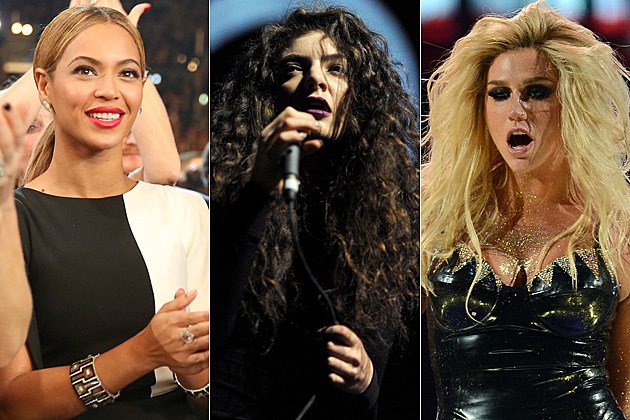 beyonce-lorde-kesha Beyonce Lorde Kesha