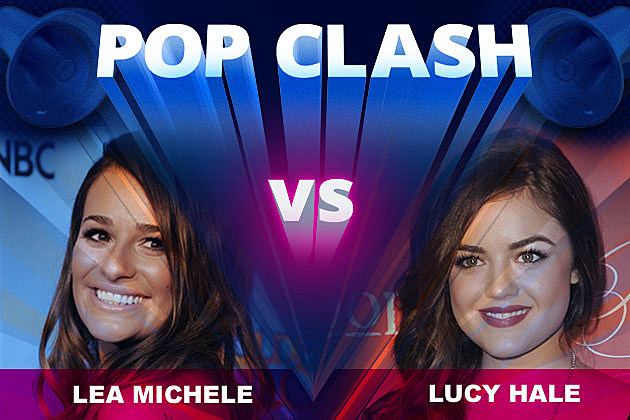 Lea Michele Lucy Hale Pop Clash