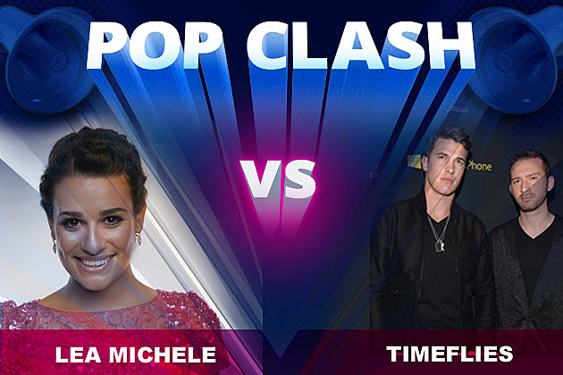 Lea Michele Timeflies Pop Clash