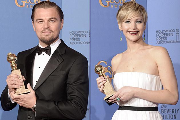 Leonardo DiCaprio Jennifer Lawrence