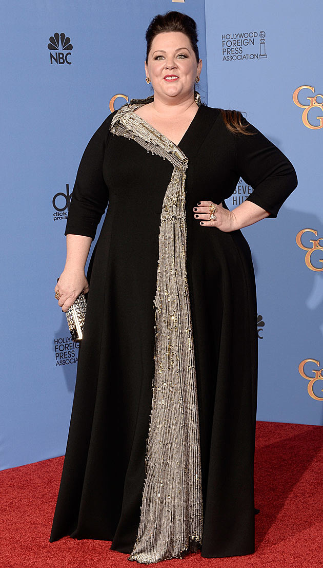 See Melissa McCarthys Dress at the 2014 Golden Globes