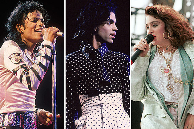 Michael Jackson, Prince, Madonna