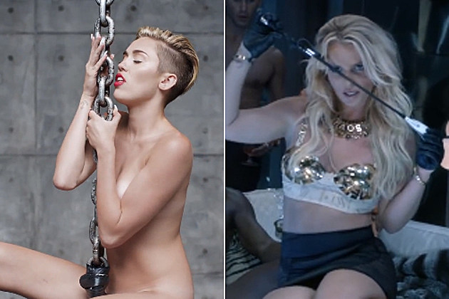 miley-cyrus-britney-spears Miley Cyrus Wrecking Ball Britney Spears Work Bitch France