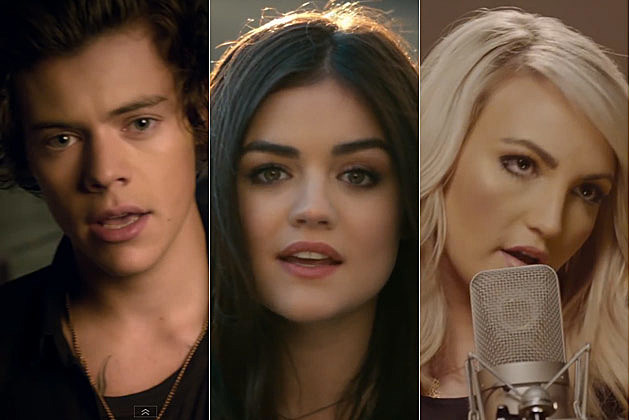 One Direction Lucy Hale Jamie Lynn Spears