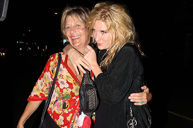 "pebe-sebert-kesha Pebe Sebert Kesha rehab LOS ANGELES, CALIFORNIA - Monday May 9 2011. Popstar Ke$ha takes her mum, Pebe Sebert, out for an evening in Los Angeles. The ""Tik Tok"" singer was looking fresh-faced wearing an oriental-style overcoat and a single feather in her left ear.Photograph: David Tonnessen PacificCoastNews.com"