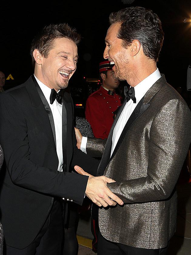 Jeremy Renner, Matthew McConaughey
