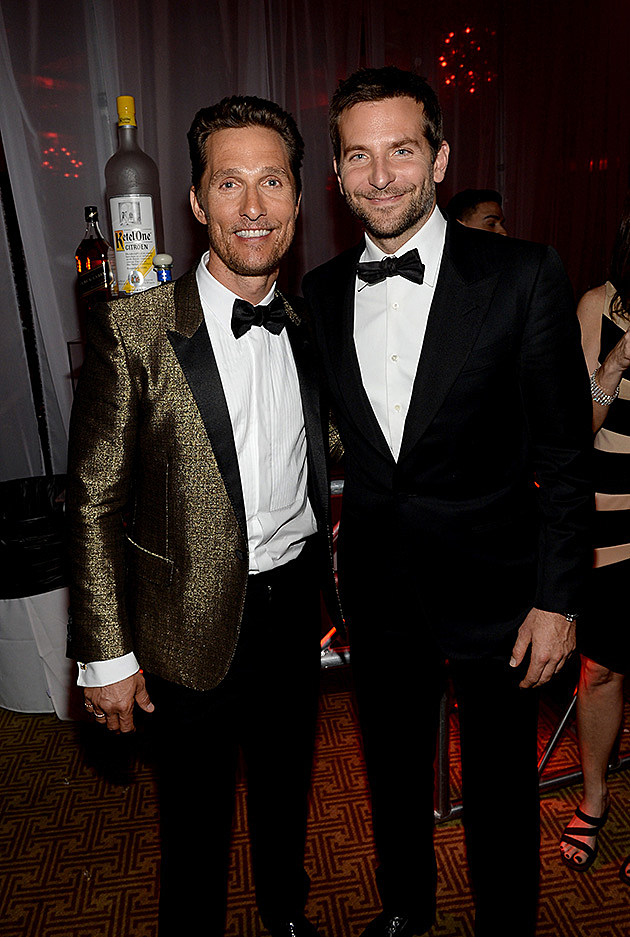 Matthew McConaughey, Bradley Cooper