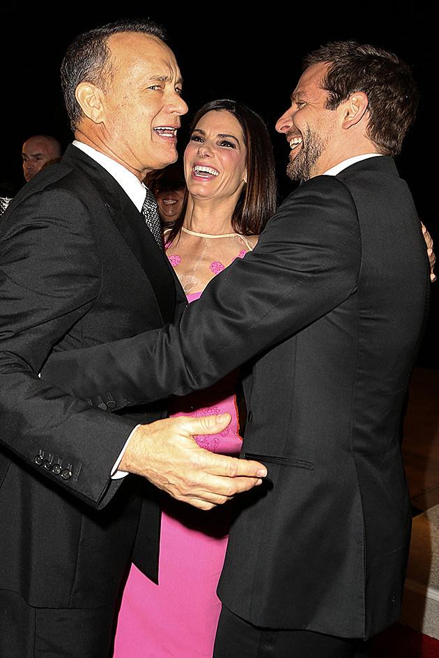Tom Hanks, Sandra Bullock, Bradley Cooper