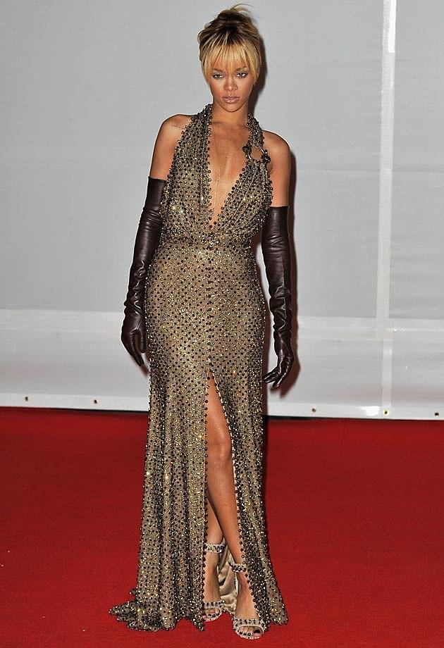 Rihanna Red Carpet Givenchy 2012