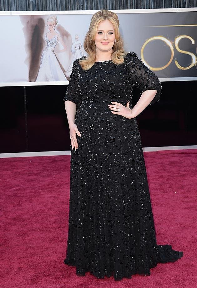 Adele 2013 Oscars Jenny Packham
