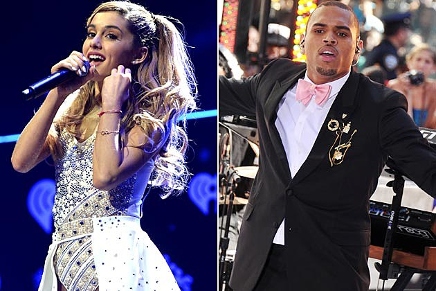 Ariana Grande Chris Brown