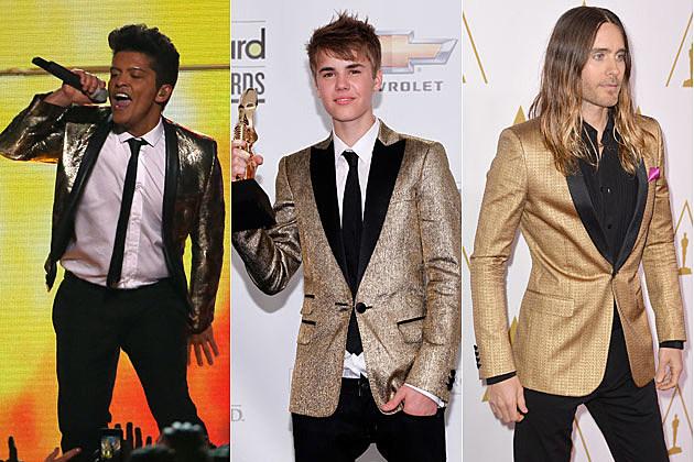 Bruno Mars Justin Bieber Jared Leto