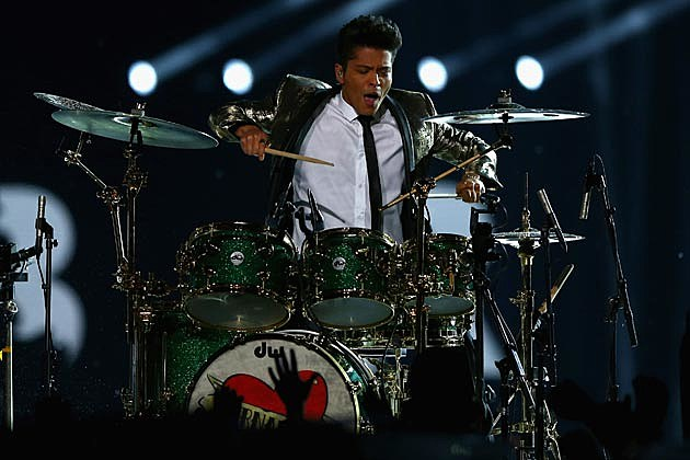 Bruno Mars Super Bowl Performance