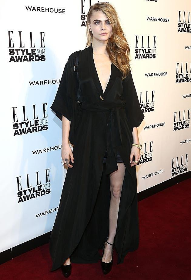 Cara Delevingne 2014 ELLE Style Awards