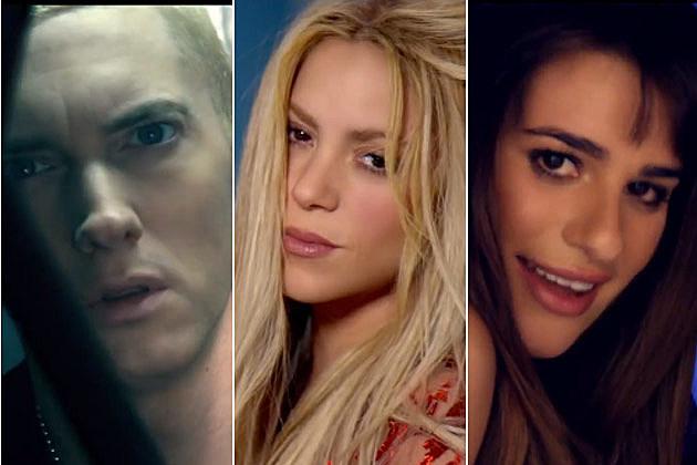 Eminem Shakira Lea Michele