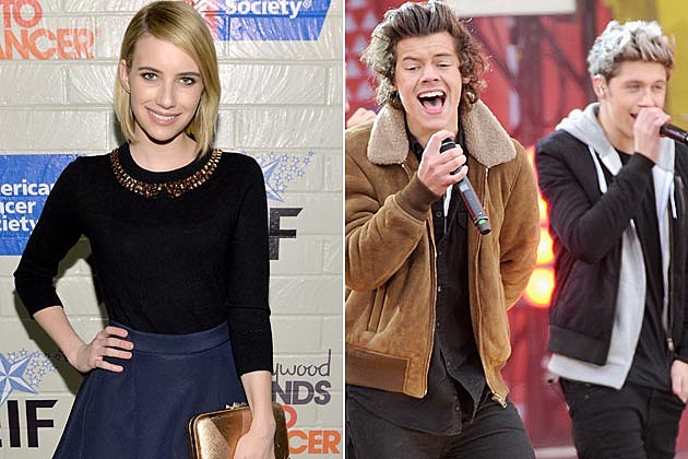 Emma Roberts One Direction