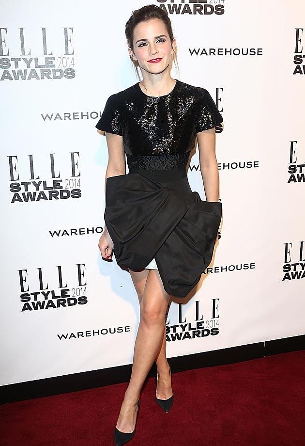 Emma Watson 2014 ELLE Style Awards
