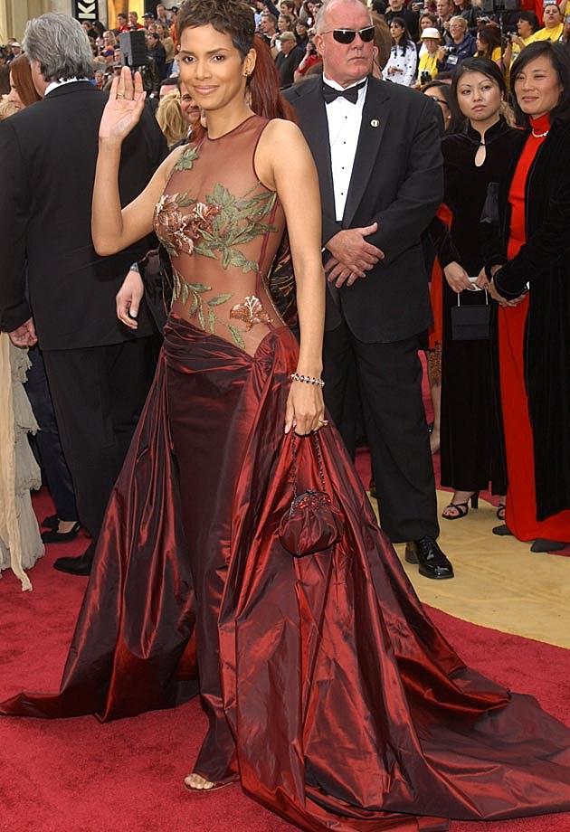 Halle Berry Elie Saab 2002 Oscars