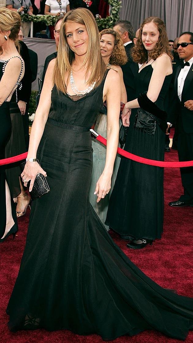 Jennifer Aniston Rochas 2006 Oscars