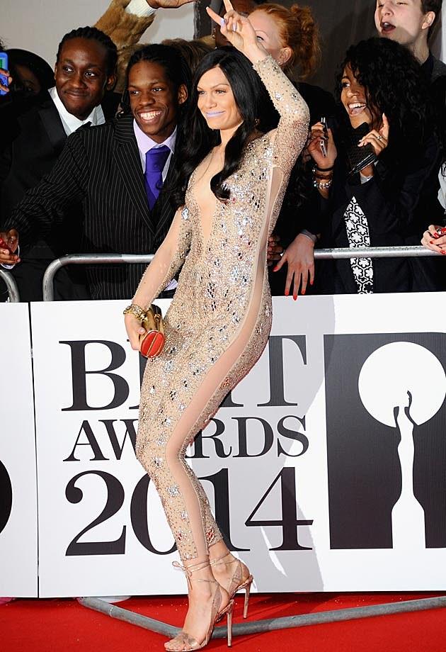Jessie J Front 2014 BRITS