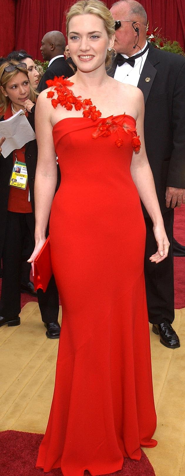 Kate Winslet 2002 Oscars Ben de Lisi