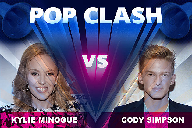 Kylie Minogue Cody Simpson