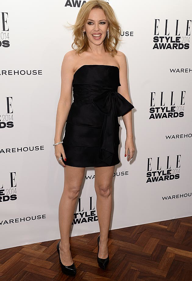 Kylie Minogue 2014 ELLE Style Awards