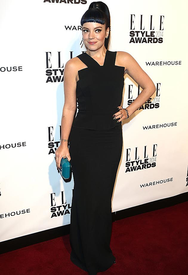 Lily Allen 2014 ELLE Style Awards