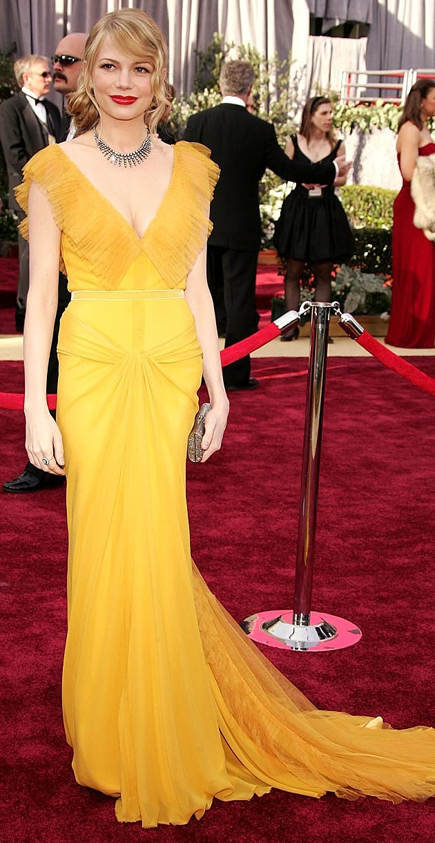 Michelle Williams 2006 Oscars Vera Wang