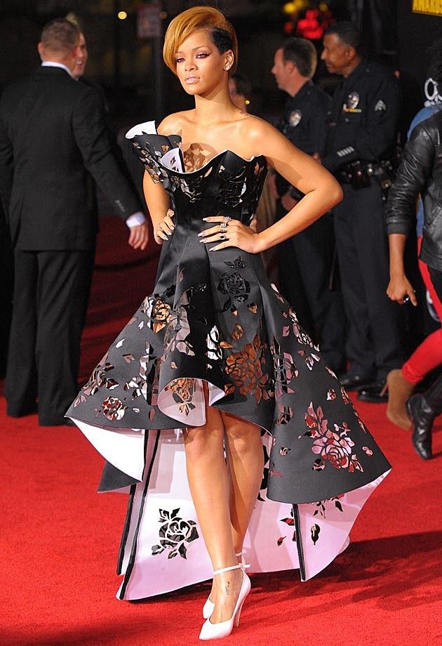Rihanna Marchesa AMAs 2009
