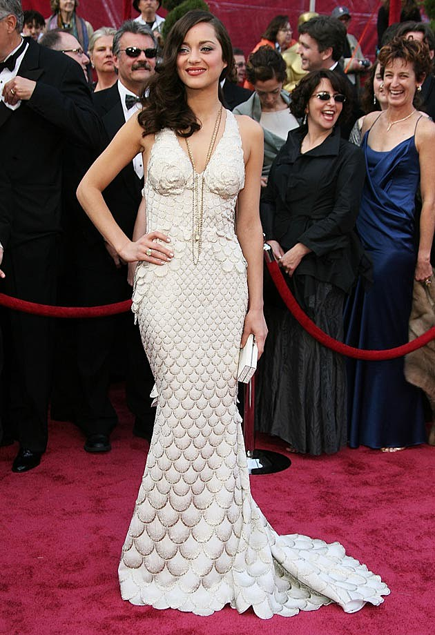 Marion Cottilard Jean Paul Gaultier 2008 Oscars
