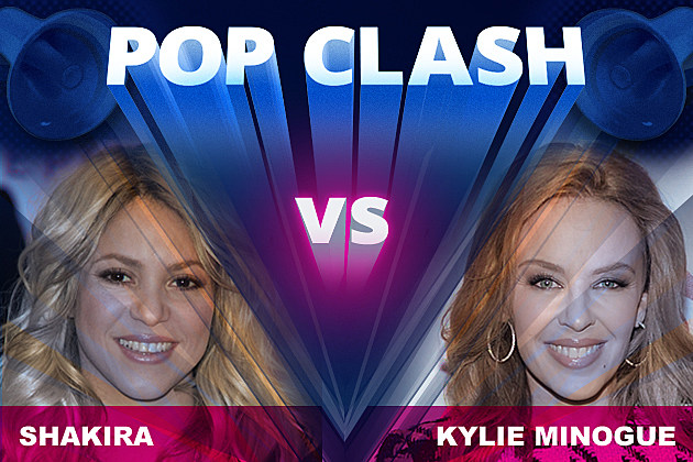 Shakira Kylie Minogue Pop Clash