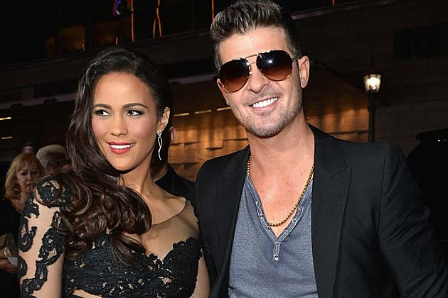 Paula Patton Robin Thicke Marriage Over