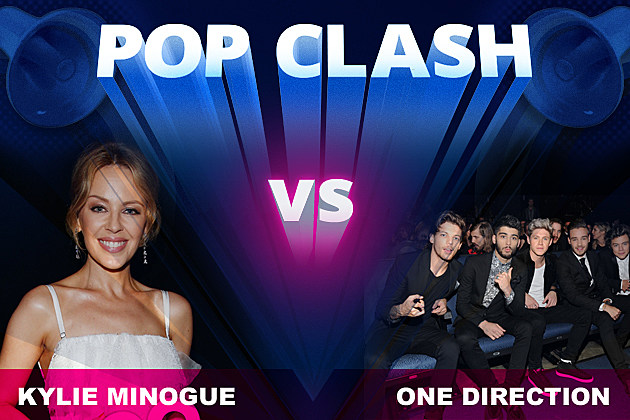 Pop Clash Kylie Minogue One Direction