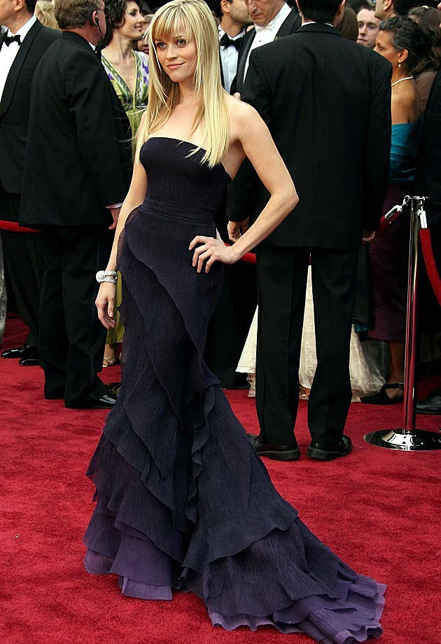 Reese Witherspoon 2007 Oscars Nina Ricci Olivier Theyskens