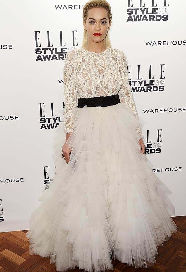 Rita Ora 2014 ELLE Style Awards
