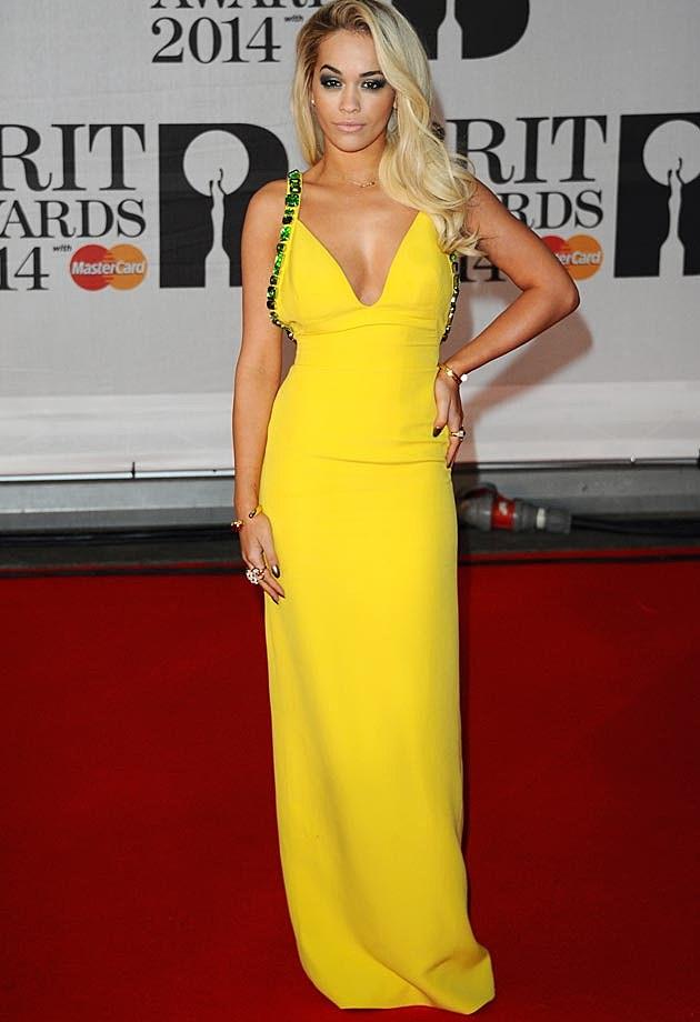 Rita Ora 2014 BRITS