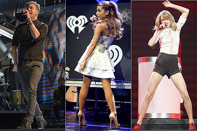 Ryan tedder reveals what ariana grande taylor swift have in common