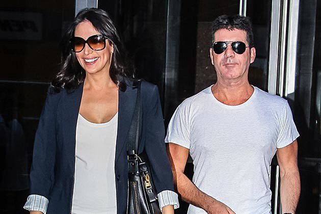 Simon Cowell Lauren Silverman Son