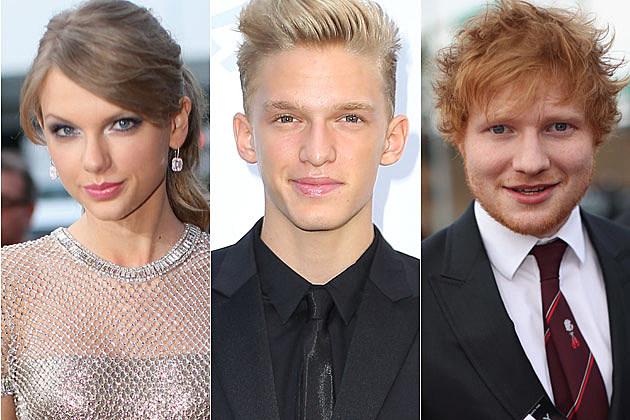 Taylor Swift Cody Simpson Ed Sheeran