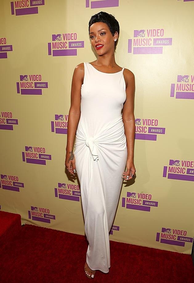 Rihanna VMAs 2012 Adam Selman