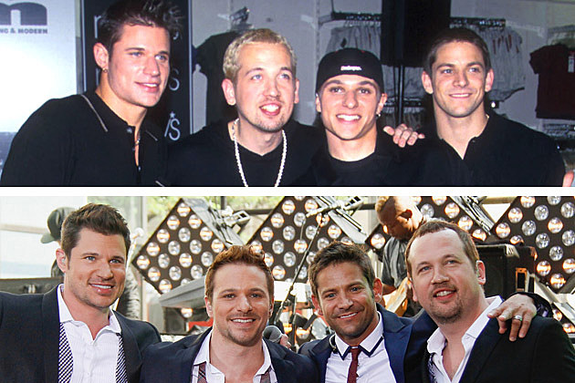 Then + Now: '90s Boy Bands
