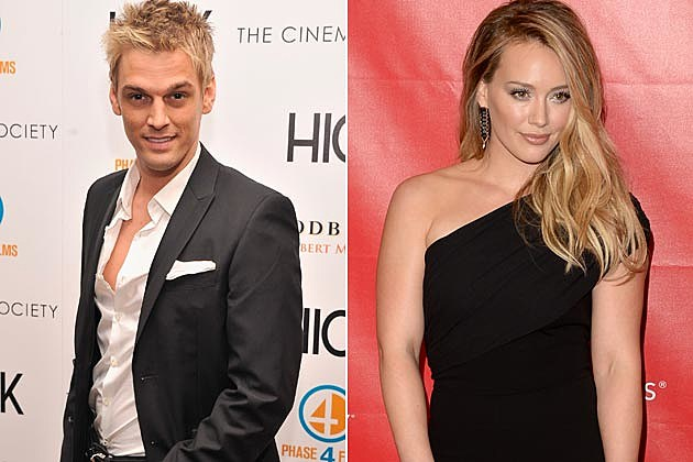 Aaron Carter Hilary Duff