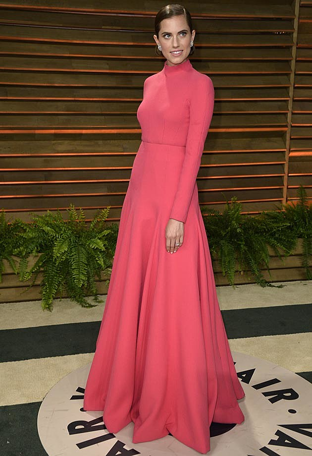 Allison Williams 2014 Vanity Fair Oscar Party