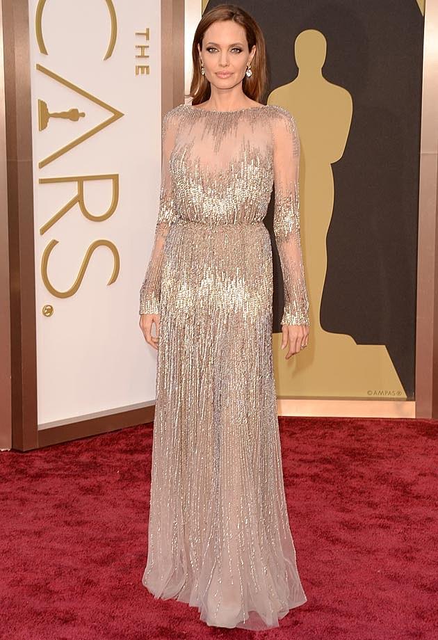 Angelina Jolie 2014 Oscars