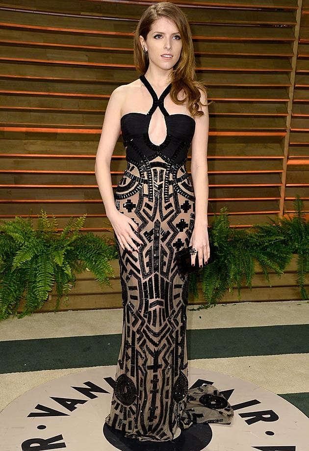 Anna Kendrick 2014 Oscar Vanity Fair Party
